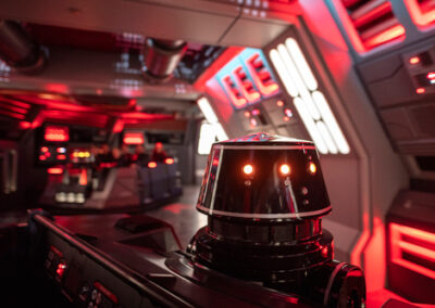 Star Wars Rise Of The Resistance Star Destroyer corridors