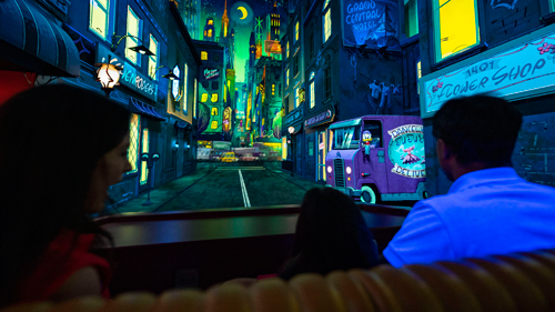 Mickey & Minnie Runaway Railway City Ride