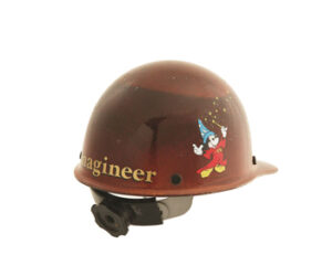 imagineer hard hat for use in work