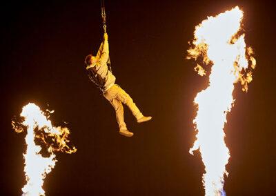 the bourne stuntacular man on fire universal orlando