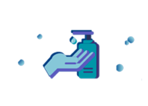gel hidroalcolico para desinfección de manos
