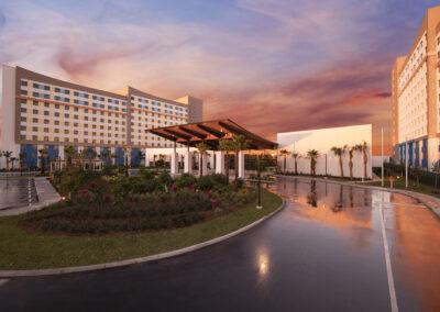 Universal Dockside & suites Front Entrance