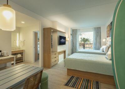 Universal Dockside & suites Standard Room two rooms