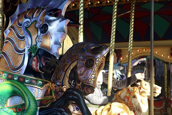 Prince Charming Regal Carrousel Fantasyland Magic Kingdom Horses