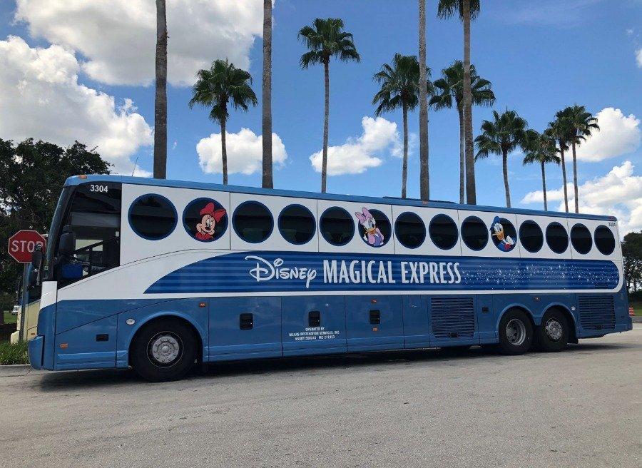 disney magical express bus