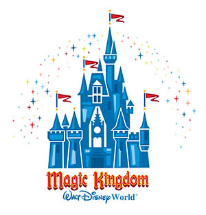 logo magic kingdom walt disney world