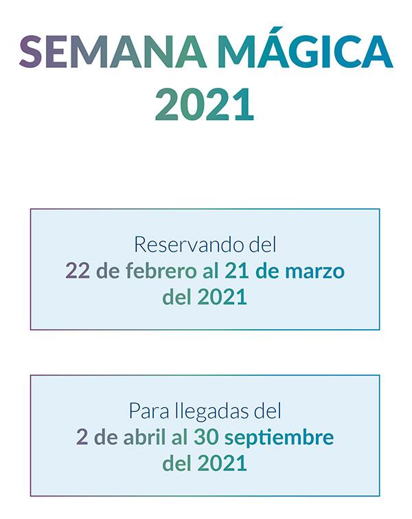 oferta semana magica disneyland paris 2021