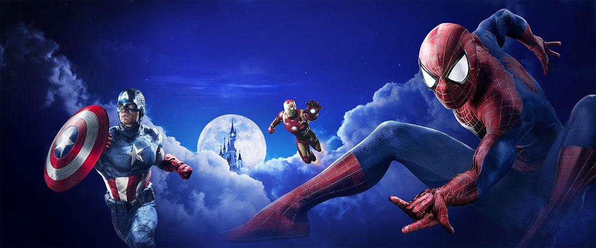 Temporada Marvel en Disneyland París