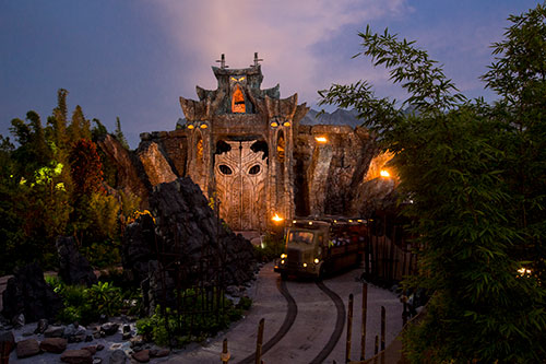Skull Island Reign of kong vehiculo