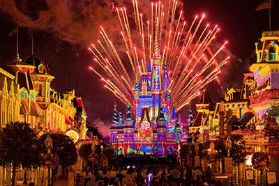 Disney Enchantment fireworks magic kingdom