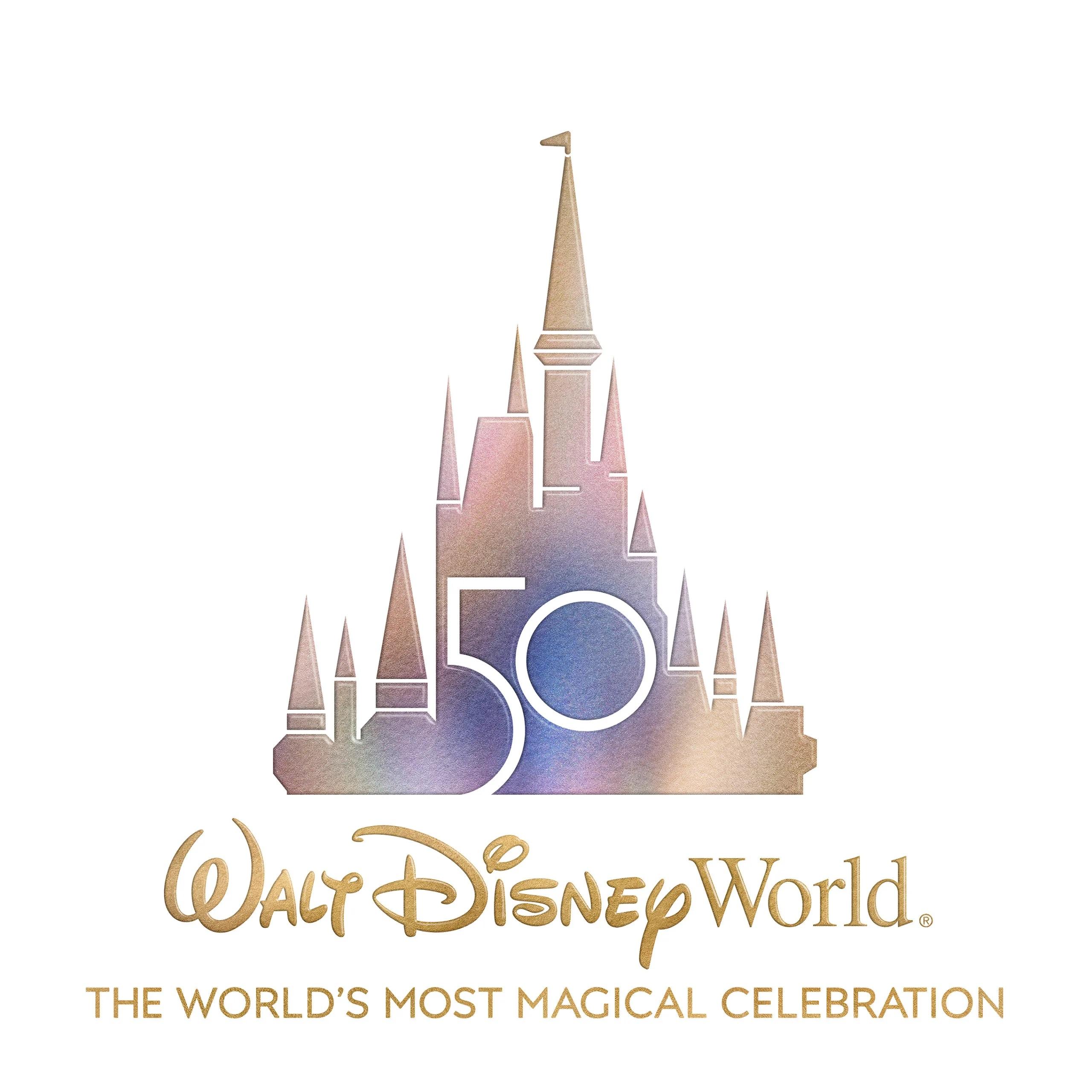 walt disney world 50 aniversario logo