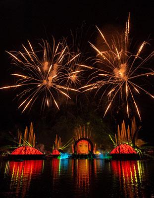 Harmonious espectáculo epcot Walt Disneyworld