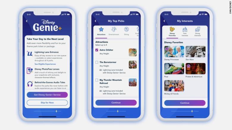 Disney Genie Walt Disney World App image
