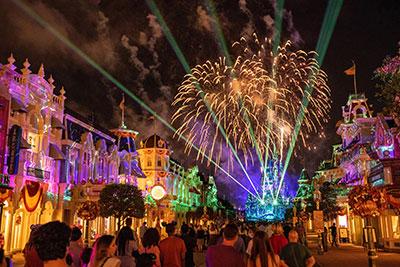 disney enchantment fireworks in Magic Kingdom